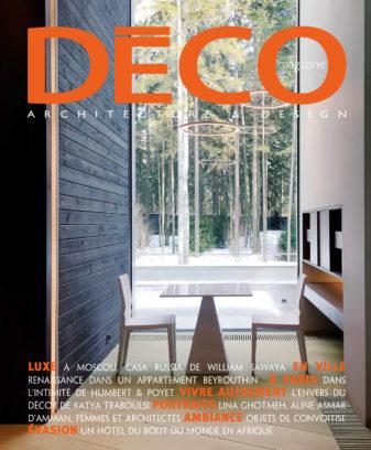 2018 12 Deco Magazine Liban Couv
