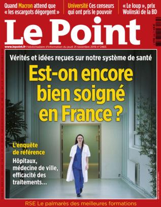 2019 11 LEPOINT FRANCE COUV