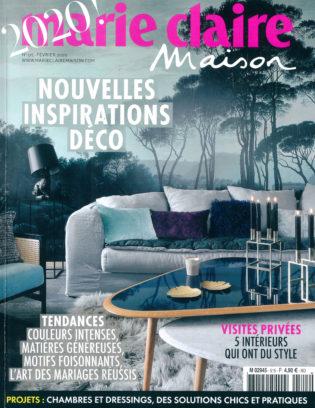 2020 01 MARIE CLAIRE MAISON FRANCE COUV